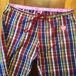 PINK Victoria's Secret pajama pants.